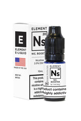 NS20 Nicotine Booster by Element E-Liquid
