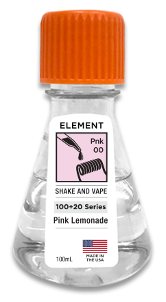 Pink Lemonade 100ml Flask By Element E-Liquid