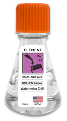 Watermelon Chill 100ml Flask by Element E-Liquid