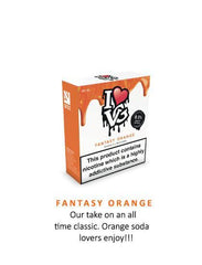 Fantasy Orange by I Love VG