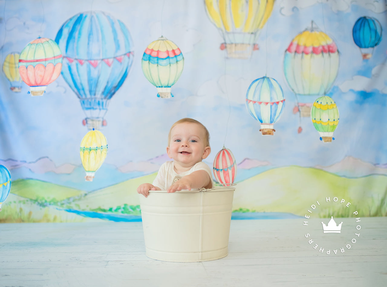 Photography Backdrop | An Adventure Awaits by Heidi Hope