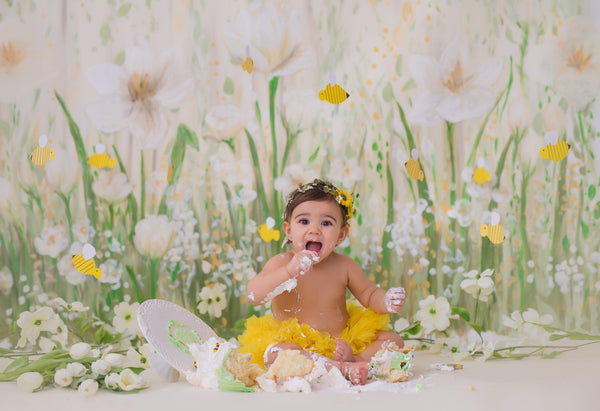 Photography Backdrop | Full Bloom by Heidi Hope