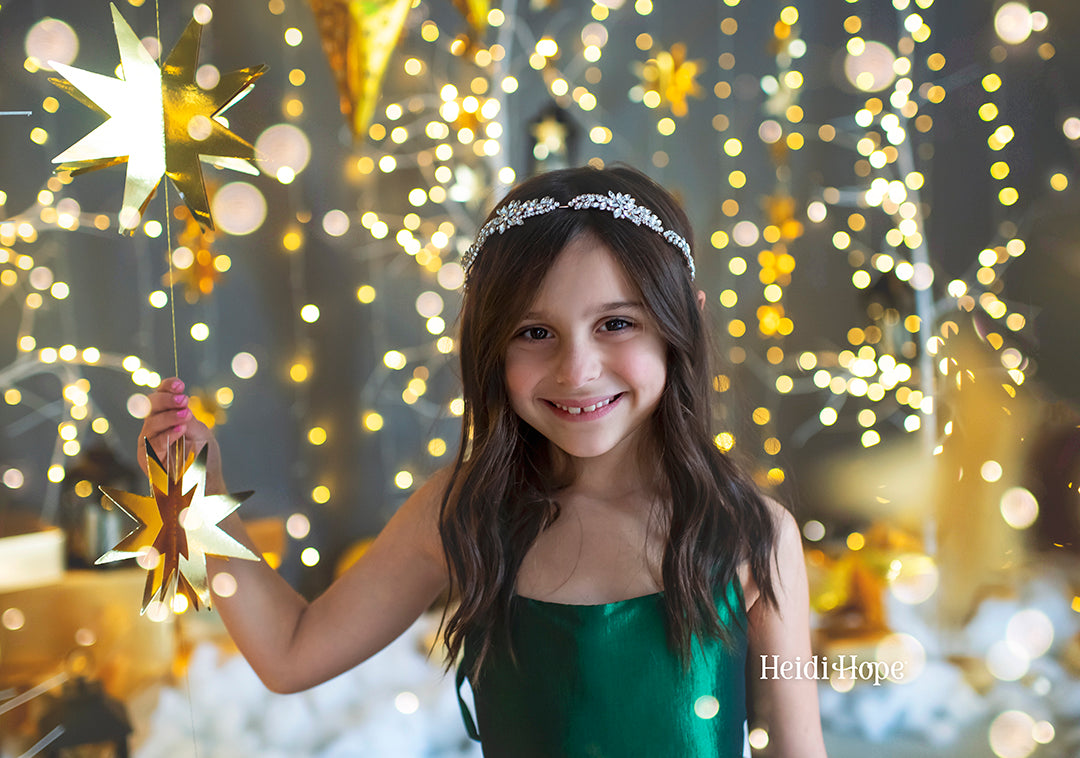 Holiday Light Bokeh Overlays