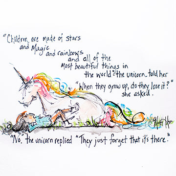 Unicorn and What Children are Made Of Printable