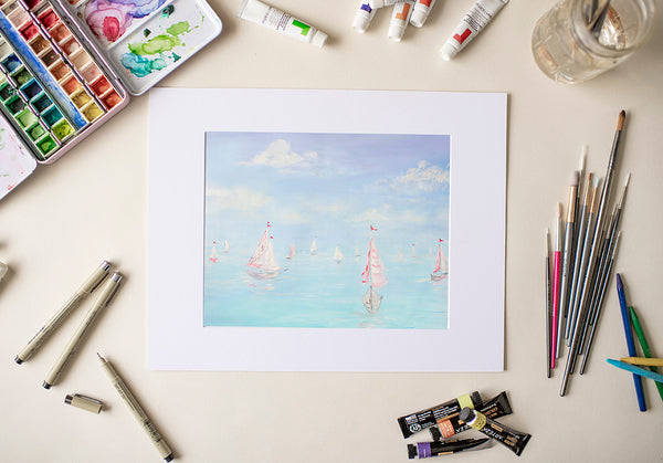 Boats - Fine Art Decor