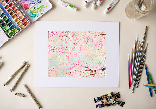 Cherry Blossoms - Fine Art Decor