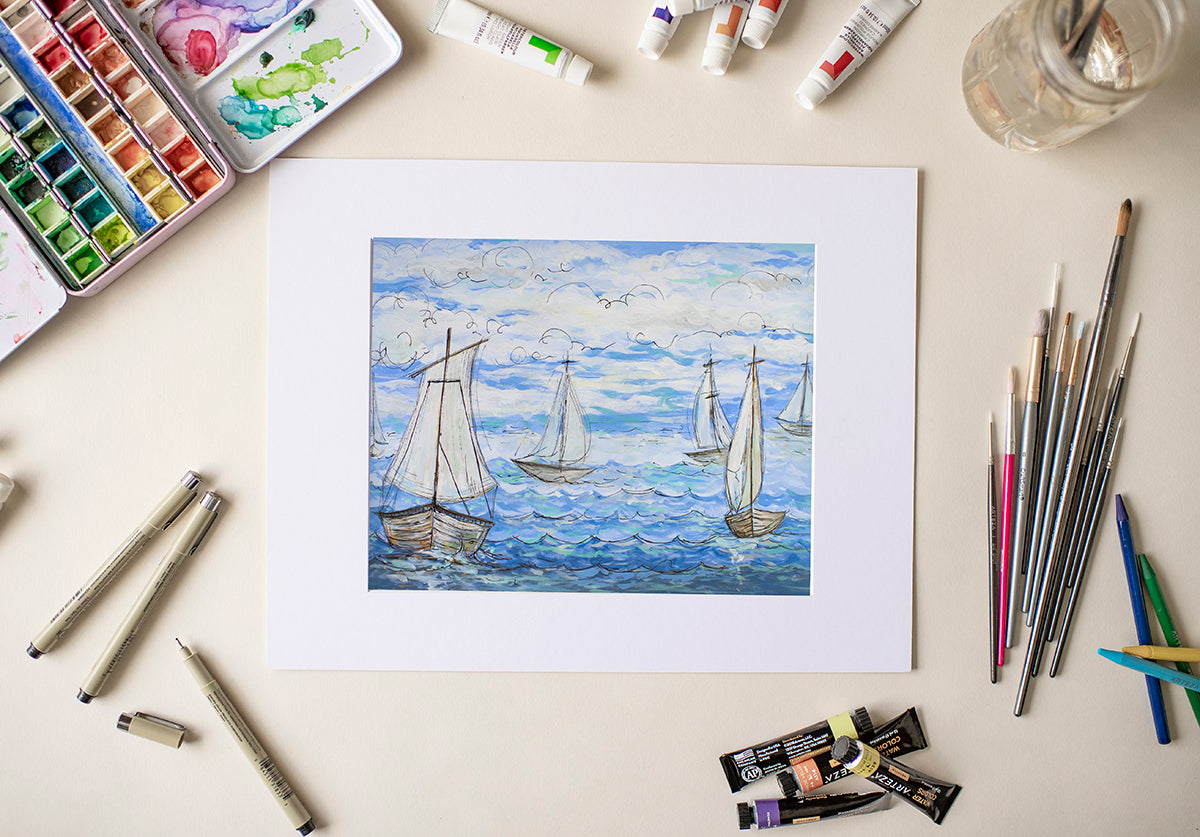 Sail Away - Fine Art Decor