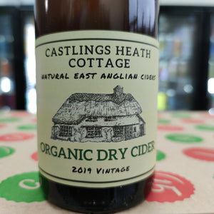 Little Earth Project - Castlings Heath Cottage - Organic Dry Cider - 2019 Vintage (750ml)