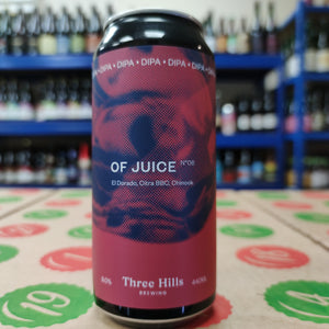 Three Hills - Of Juice No.6 (440ml Can)
