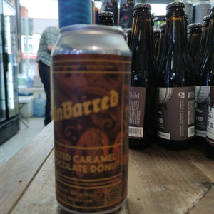 Unbarred - Salted Caramel Chocolate Donut (440ml Can)
