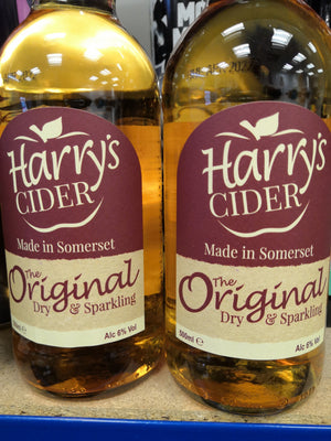 Harry's Original Dry Sparkling Cider (500ml Bottle)
