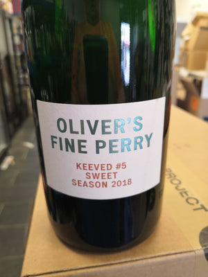 Oliver's Keeved Perry #5 2018 (750ml Bottle)