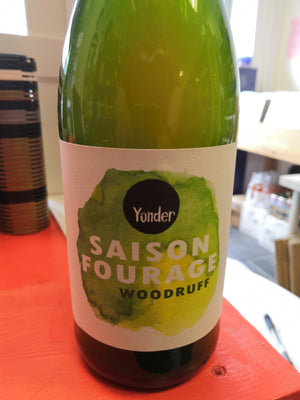 Yonder Saison Fourage Woodruff (750ml)