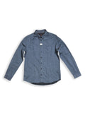Blue de Gênes Bacco Melton Blue Shirt