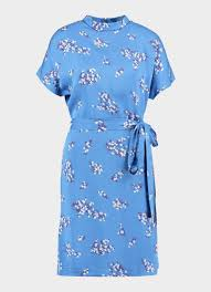 Samsoe & Samsoe Blume Short Dress Blauw