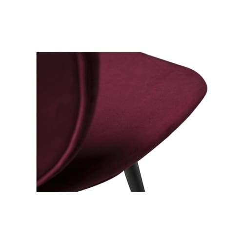 Cloud Stol Deep Ruby Sammet 2-pack - Stol