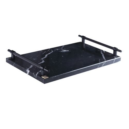 Kraljevic Marble Tray Black Moon - Bricka