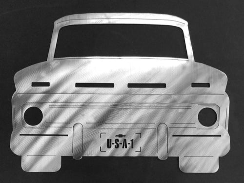 1960 Chevrolet Truck Silhouette Wall Decor