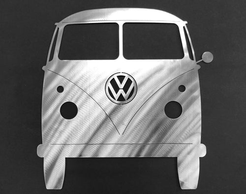 1962 VW Bus Silhouette Wall Decor