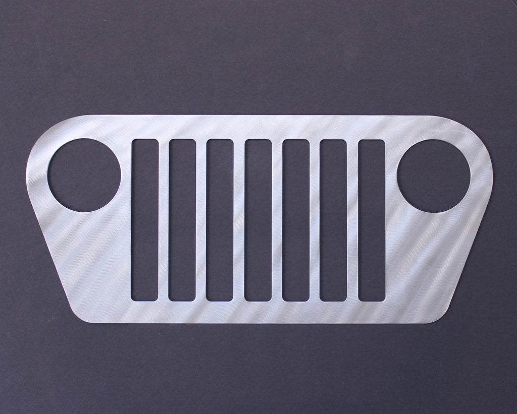 Jeep Grill Wall Decor Silhouette Wall Muscle