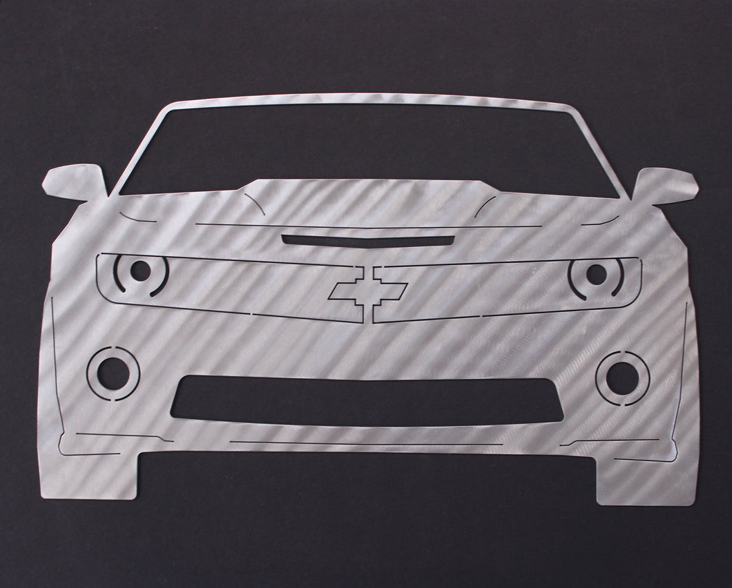 2013 Fifth Generation Chevrolet Camaro SS Silhouette Wall Decor