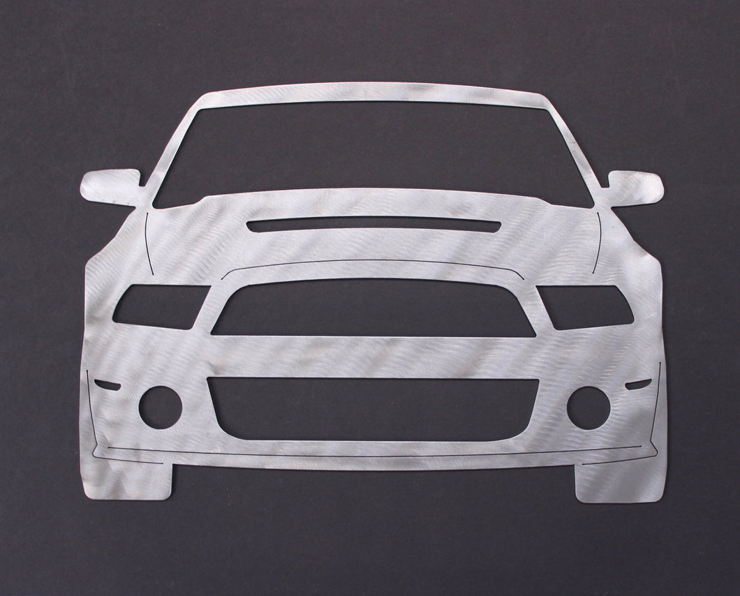 Ford Mustang GT Silhouette Wall Decor