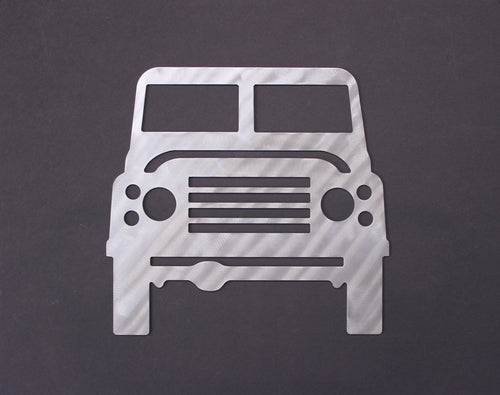Land Rover Silhouette Wall Decor