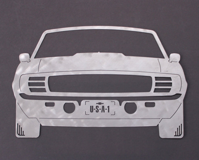 1969 Chevrolet Camaro RS/SS Silhouette Wall Decor