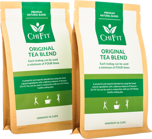 Double pack of Chi Fit Original Tea Blend (minimum of 112 cups of tea)