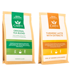 Chi Fit Bundle: Turmeric Latte Blend with extracts(min 30 cups) and Original Tea Blend(min 56 cups)  €36.95