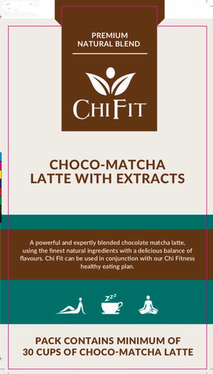 Chi Fit Choco-Matcha Latte with Extracts