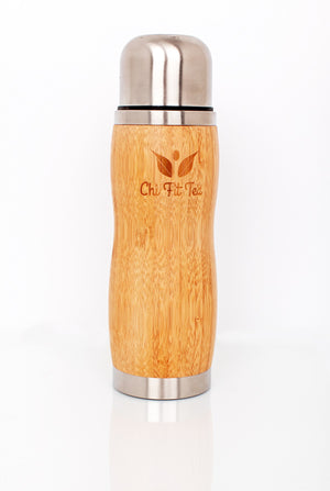 Chi Fit Bamboo Thermal Flask