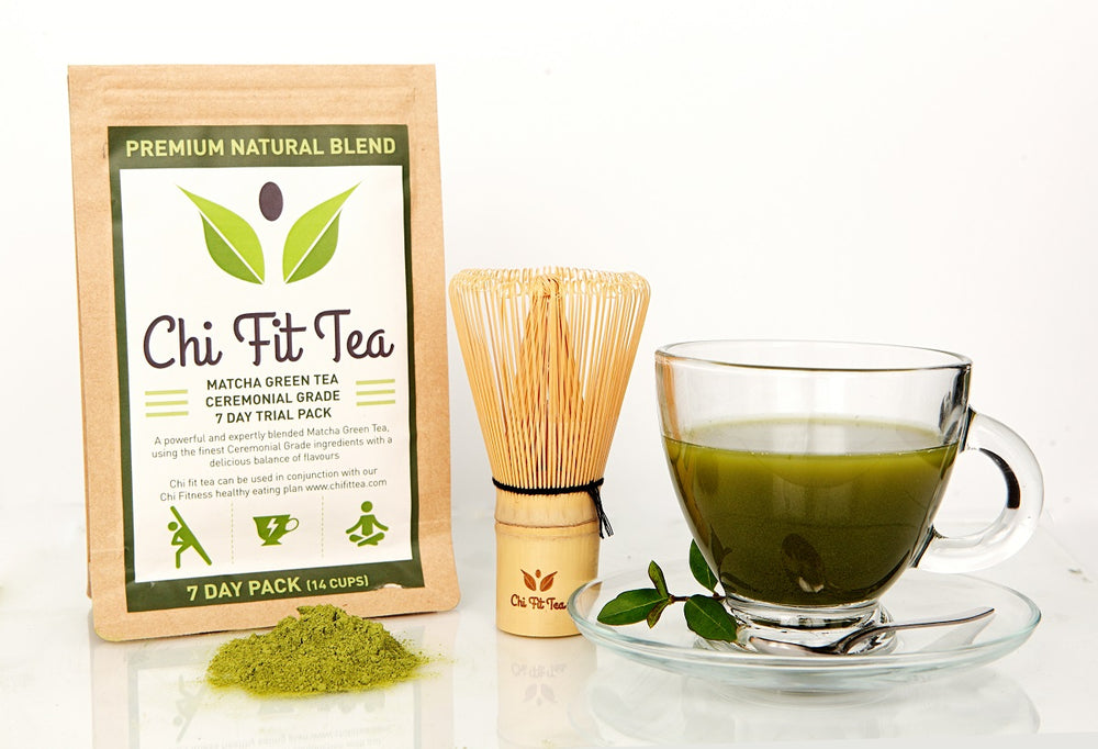 Chi Fit Tea Ceremonial Grade Matcha Green Tea - 40g 7 day pack (14 cups)