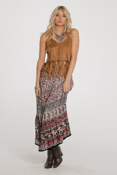Dreamweaver Maxi Skirt