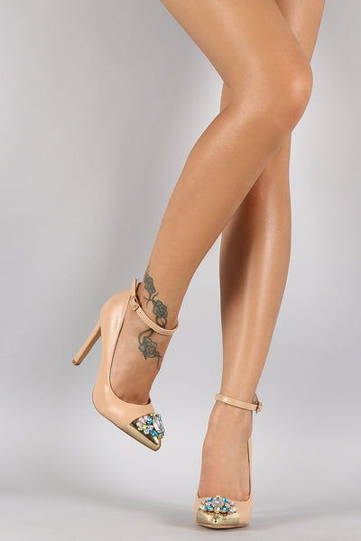 Liliana Dazzled Pointy Toe Pump