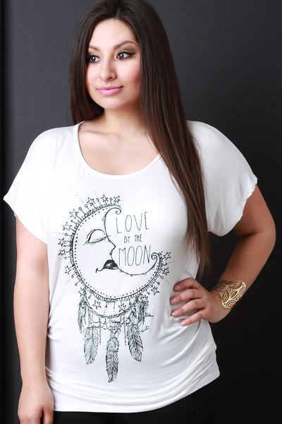 Love By The Moon Graphic Tee