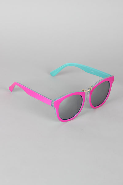 Two Tone Retro Vibe Sunglasses