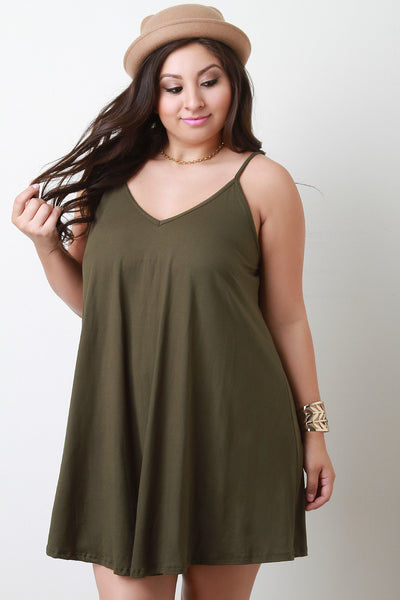 Flowy Sleeveless Cami Dress