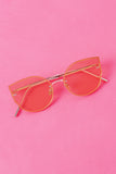 Retro Tinted Shades Cateye Sunglasses
