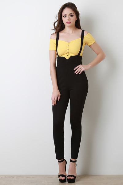 High Waisted Overall Leggings