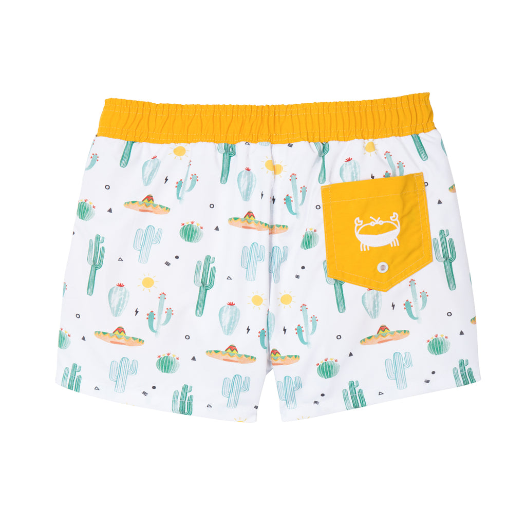 Short de bain Anti UV imprimé Cactus Warren