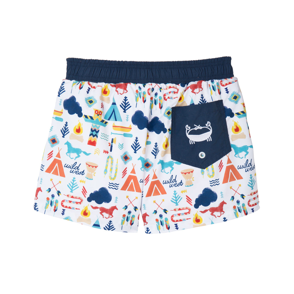 Short de bain Anti UV - L'univers Indien