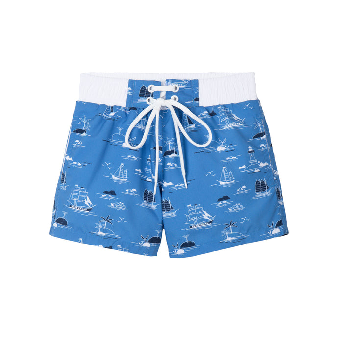 Short de bain Anti UV imprimé Marin Warren