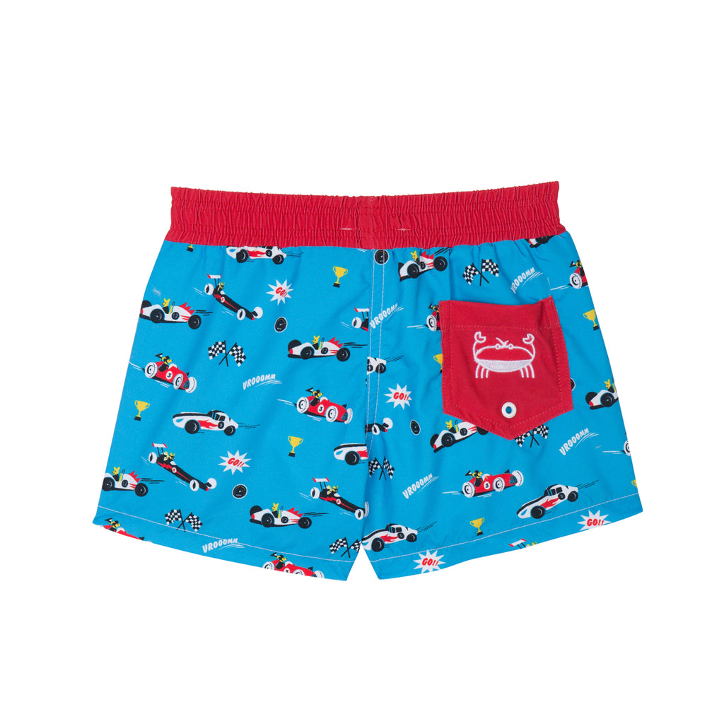 Short de bain Anti UV imprimé Racing Warren