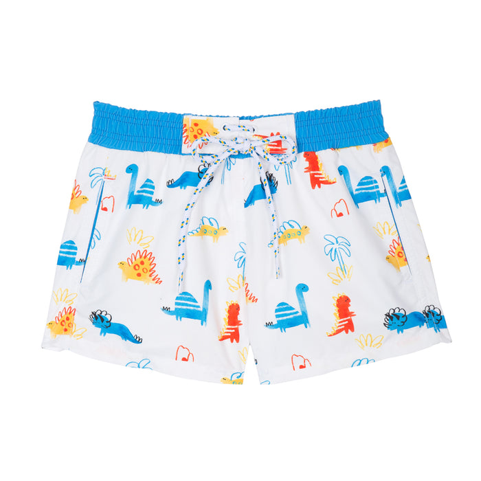 Short de bain Anti UV imprimé Dino Warren