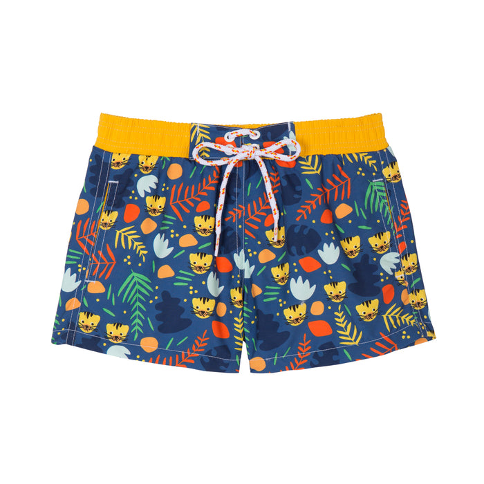 Short de bain Anti UV imprimé Tigre Warren