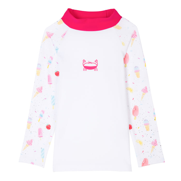 T-shirt de bain enfant anti UV UPF 50+