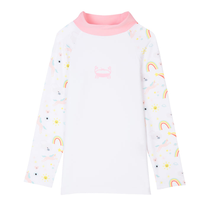 T-shirt de bain Anti UV imprimé Licorne Tom