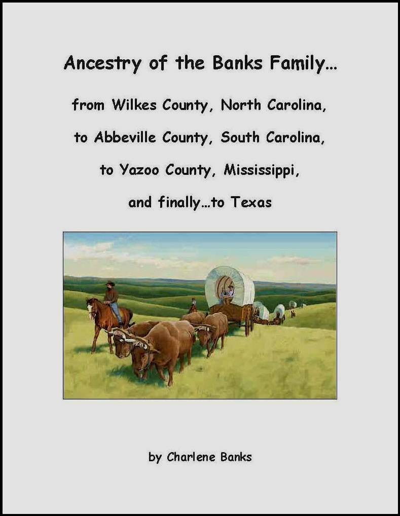 Ancestry of the Banks Family
