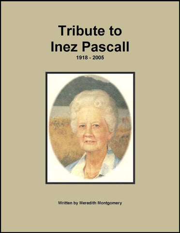 Tribute to Inez Pascall--DVD